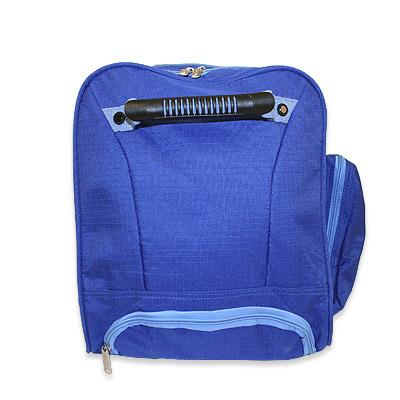 trolley reisetasche sporttasche in blau 60 liter volumen. Black Bedroom Furniture Sets. Home Design Ideas