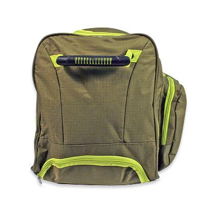 trolley reisetasche sporttasche in gr n 60 liter volumen. Black Bedroom Furniture Sets. Home Design Ideas