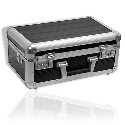 alu kamera koffer 3x schaumstoff schwarz fotokoffer neu ebay. Black Bedroom Furniture Sets. Home Design Ideas