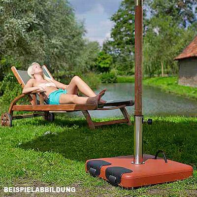 45kg schirmst nder f sonnenschirm beton anthrazit rollbar 5 ringe schirm fu ebay. Black Bedroom Furniture Sets. Home Design Ideas