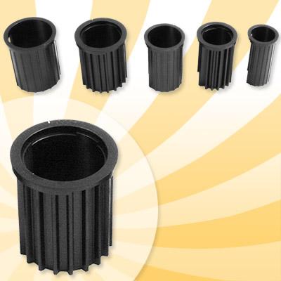 40 kg schirmst nder edelstahl rollbar 5 adapter ringen sonnenschirm ebay. Black Bedroom Furniture Sets. Home Design Ideas