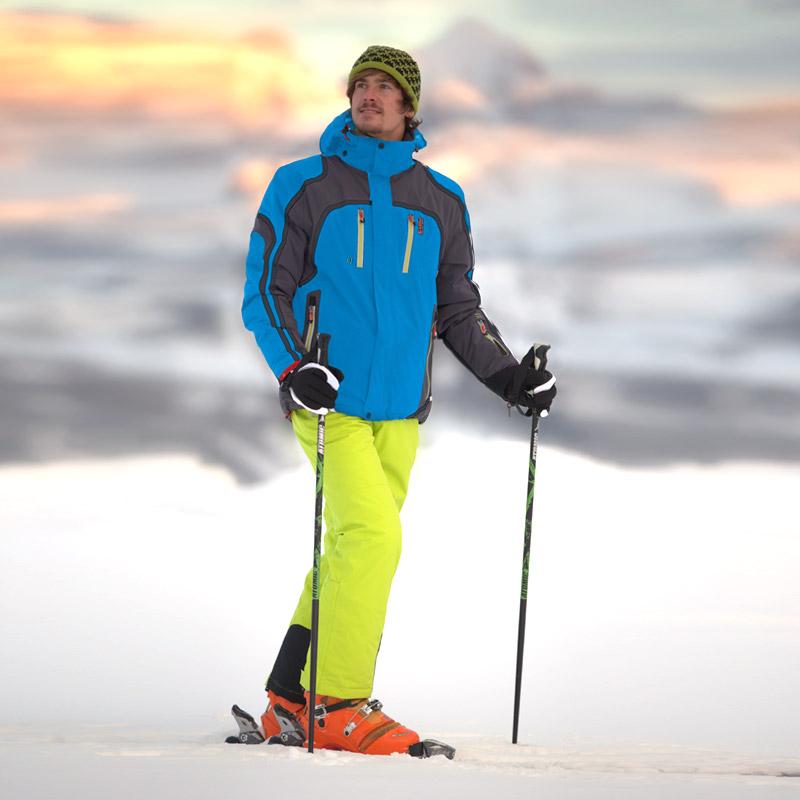 herren skianzug skijacke levent azurblau skihose balduin. Black Bedroom Furniture Sets. Home Design Ideas