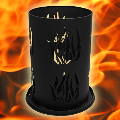 feuers ule feuerturm feuerkorb gartenfeuer brennturm feuerschale 40cmx60cm ebay. Black Bedroom Furniture Sets. Home Design Ideas