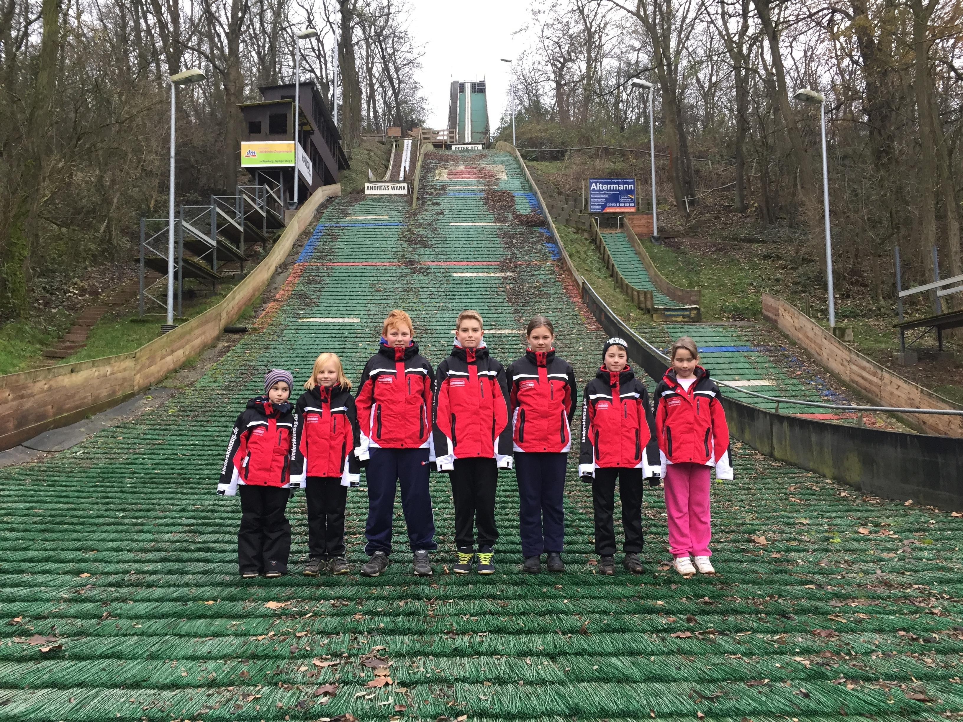 Ski, Sprungschanzem SFV Rothenburg, anndora, Skianzug, Skianzüge, Sponsor, Sponsoring