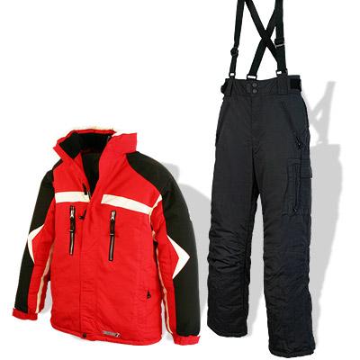 skianzug skijacke skihose jungen rot schwarz gr 164 ebay. Black Bedroom Furniture Sets. Home Design Ideas