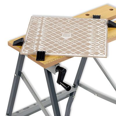 mobile werkbank basteltisch werkzeugtisch h 750mm 100kg klappbar varo. Black Bedroom Furniture Sets. Home Design Ideas