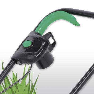 Elektrischer Rasenmäher 900 Watt Schnittbreite 30 cm