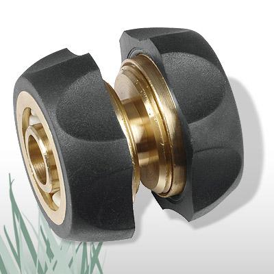 1 2 garten wasser schlauch verbinder verl ngerer messing. Black Bedroom Furniture Sets. Home Design Ideas