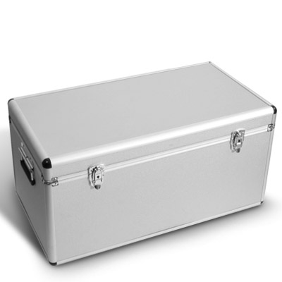 aluminium rahmen koffer transport box kiste silber 73 x 38. Black Bedroom Furniture Sets. Home Design Ideas