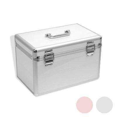 kosmetikkoffer beauty case aluminium schmuckfach beautycase form farbwahl neu. Black Bedroom Furniture Sets. Home Design Ideas