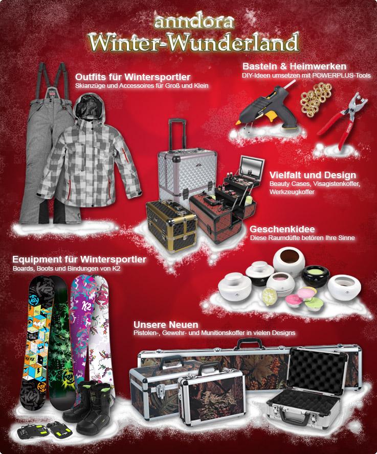 anndora Winter-Wunderland. Produktneuheiten zum Fest.