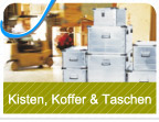 Kisten, Koffer und Taschen