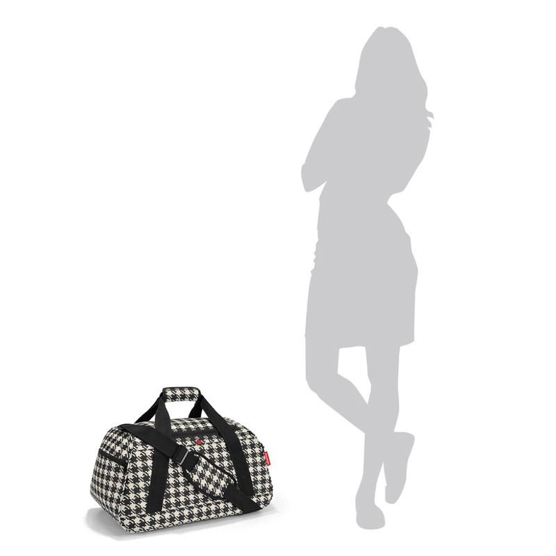 reisenthel activitybag fifties black schwarz sporttasche reisetasche saunatasche ebay. Black Bedroom Furniture Sets. Home Design Ideas