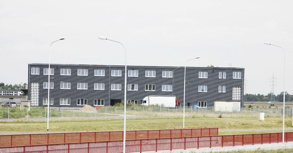 anndora, Firmengebäude, Büro, Lagerhalle, Fassadenverkleidung, Fassade